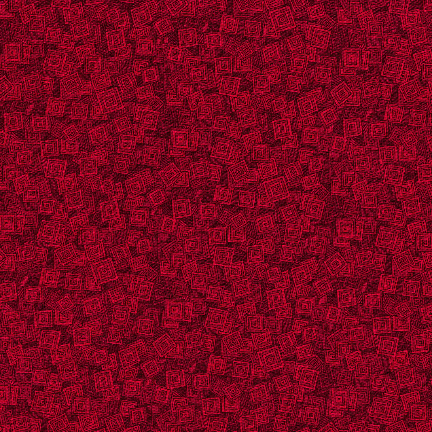 3215-006 OVERLAPPING SQUARES-WILD STRAWBERRY