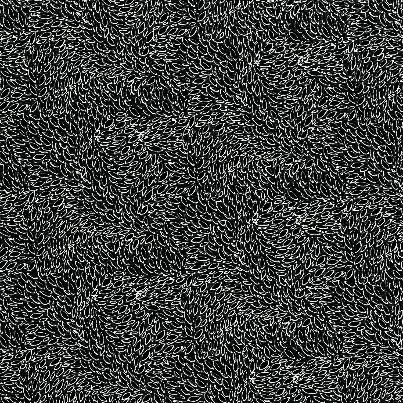 3221-007 LEAVES IN MOTION-ZEBRA