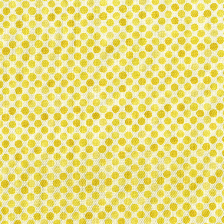 3249-003 GARDEN DOTS-YELLOW