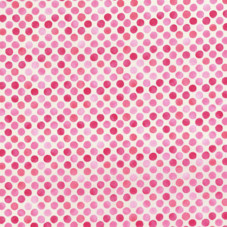 3249-005 GARDEN DOTS-PINK