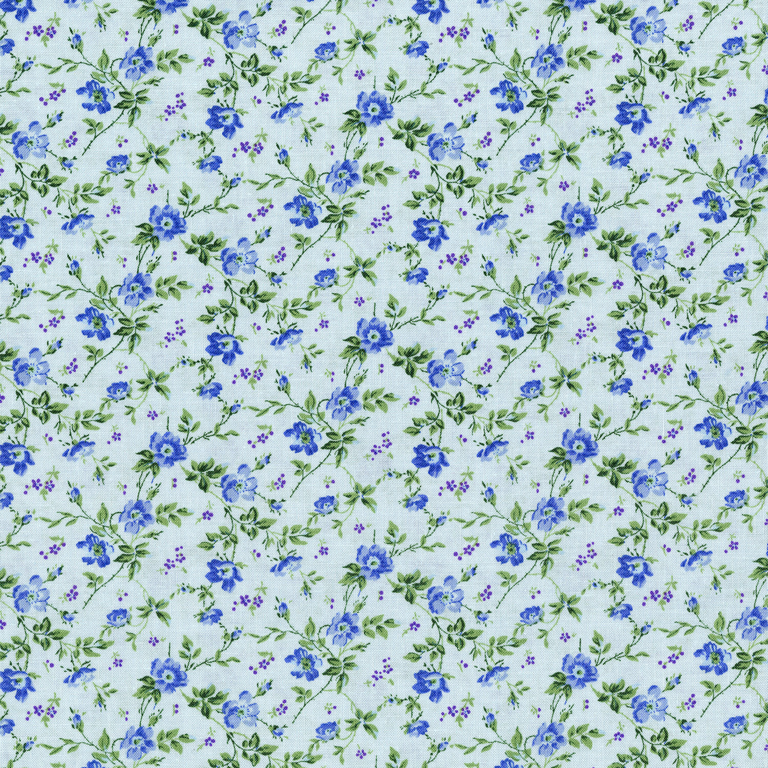 3268-003 DAINTY BLOOMS-BLUEBELL