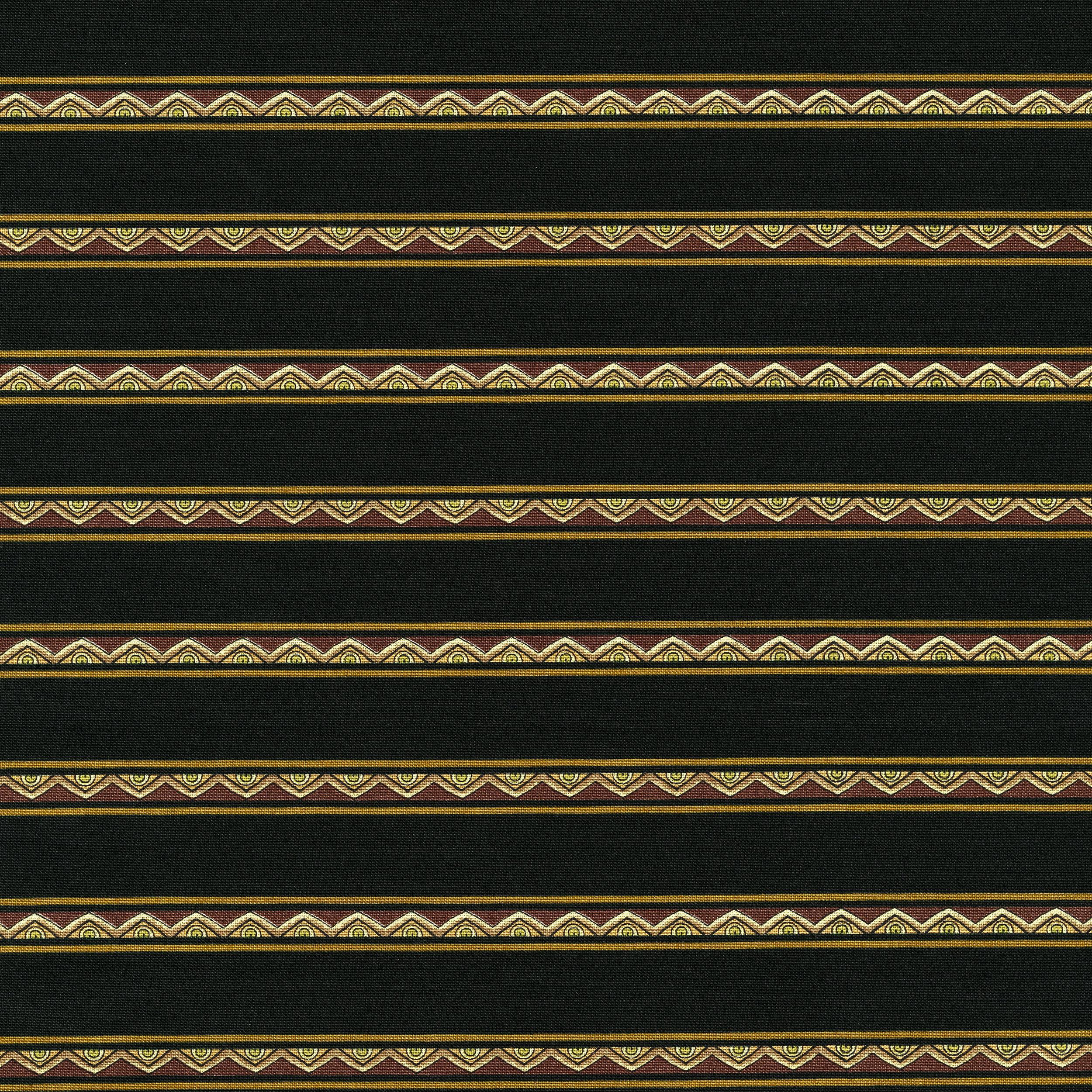 3287-002 MINI STRIPE-BROWN