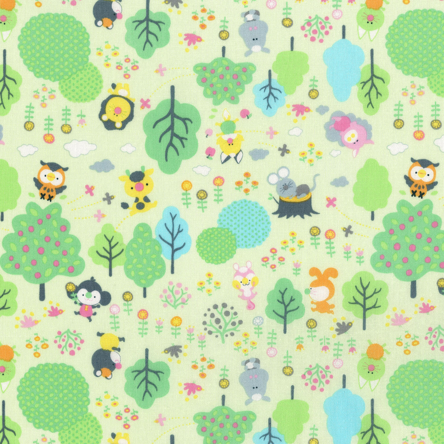 3288-002  FRIENDLY FOREST-MINT