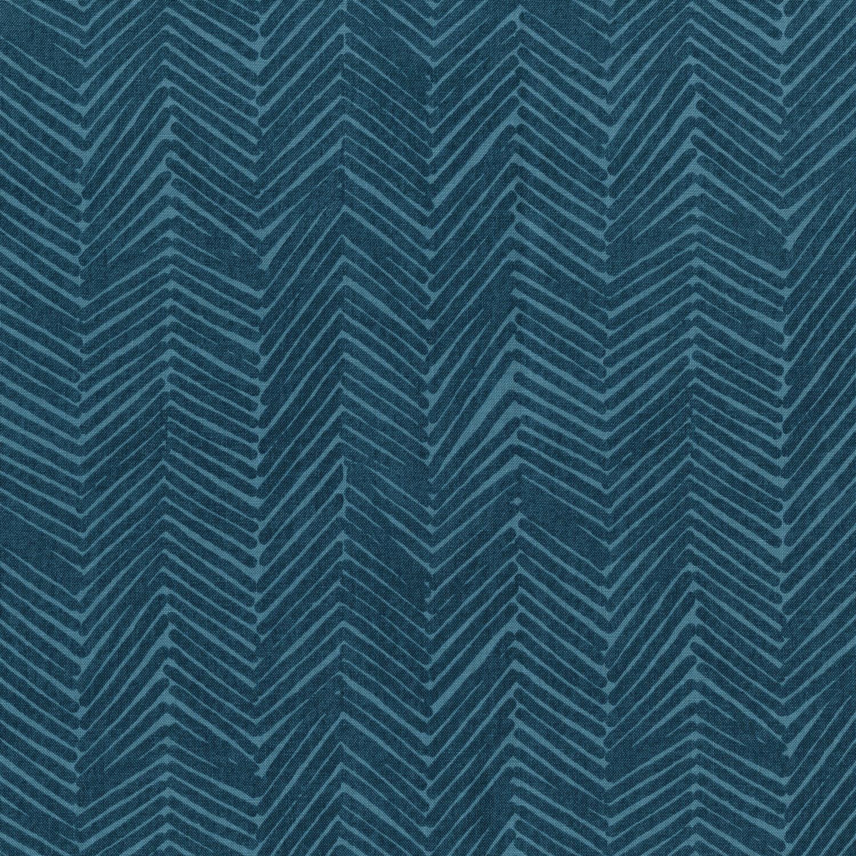 3347-001 ZIG ZAGGLE-FADED DENIM