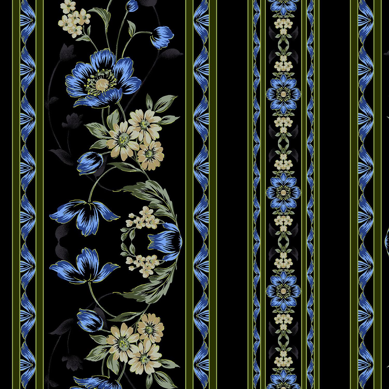3415-001 BORDER-BLUE