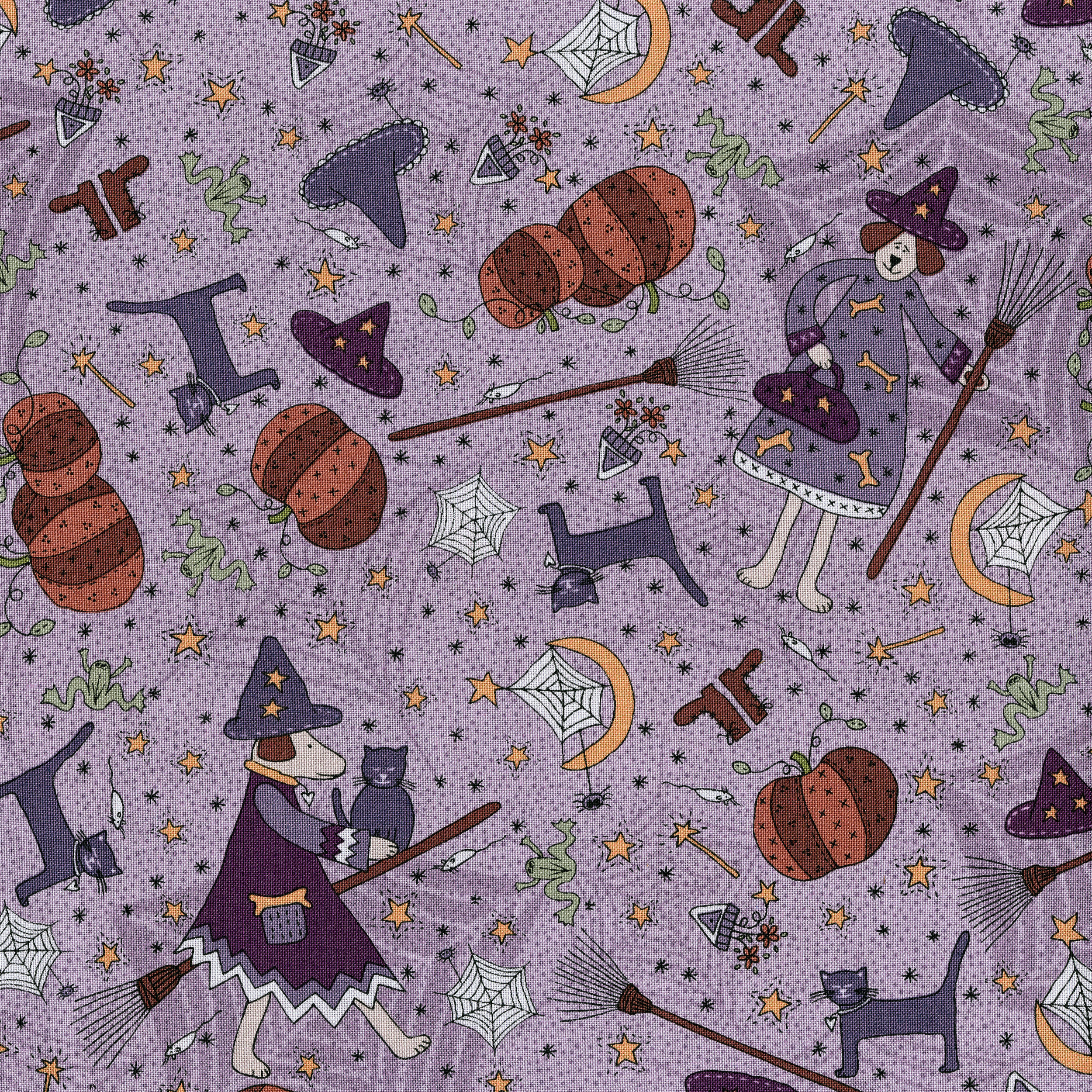 3396-001  EVERYTHING WITCHY-LAVENDER