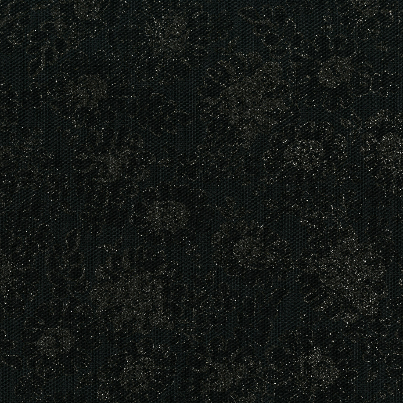 3481-001 LUSTROUS LACE-RADIANT BLACK