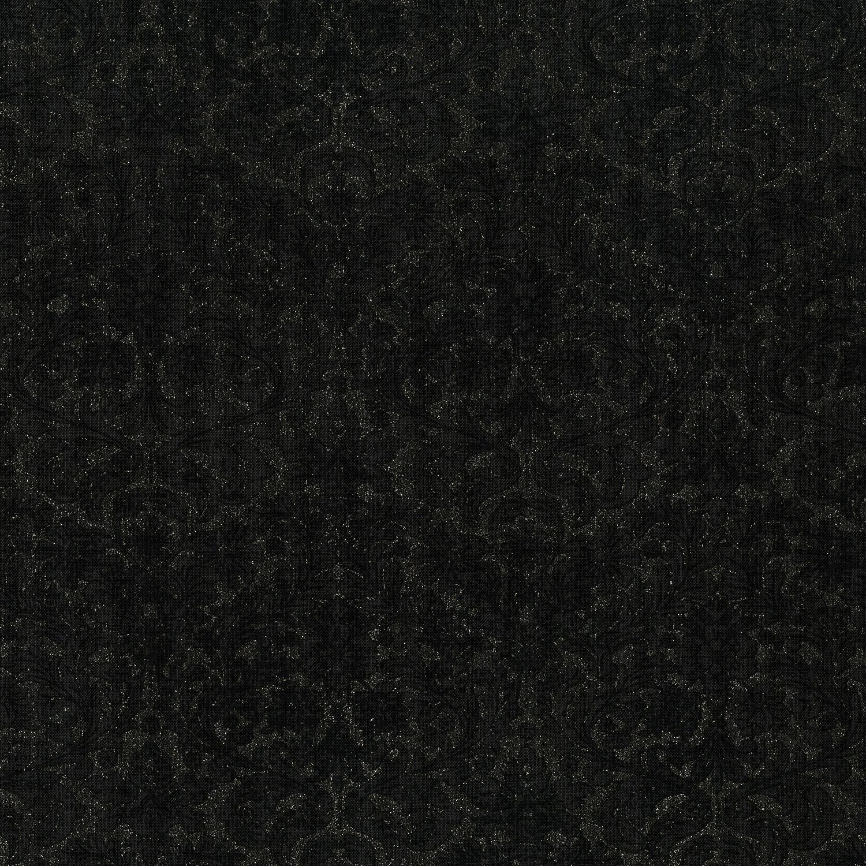 3512-001 DAZZLING DAMASK-RADIANT BLACK