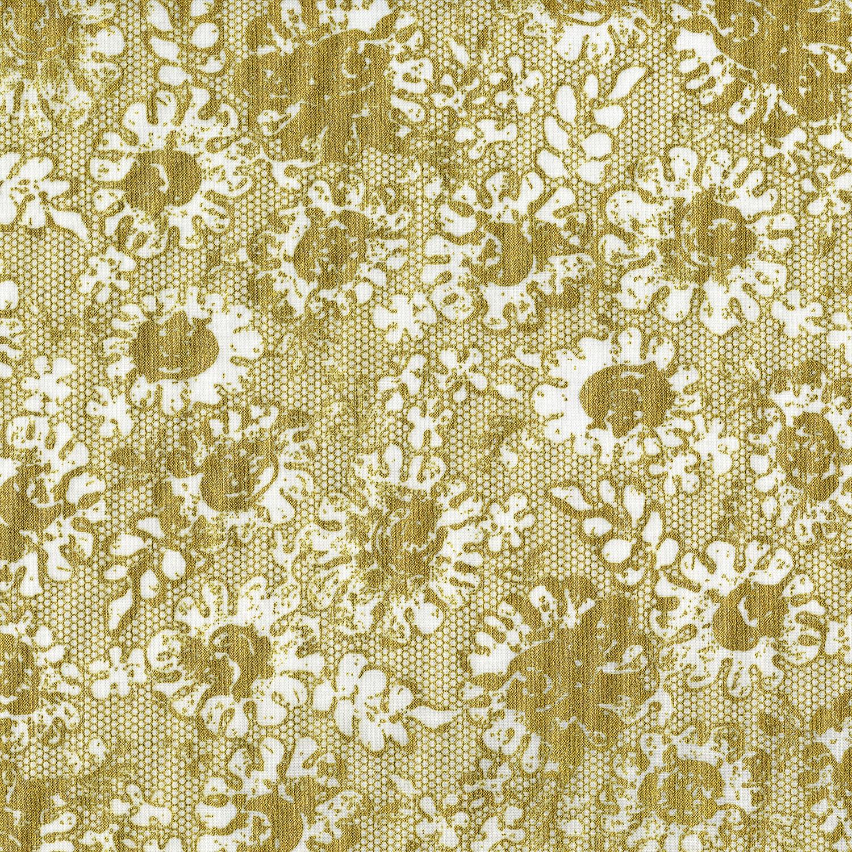 3482-001 LUSTROUS LACE-GOLD