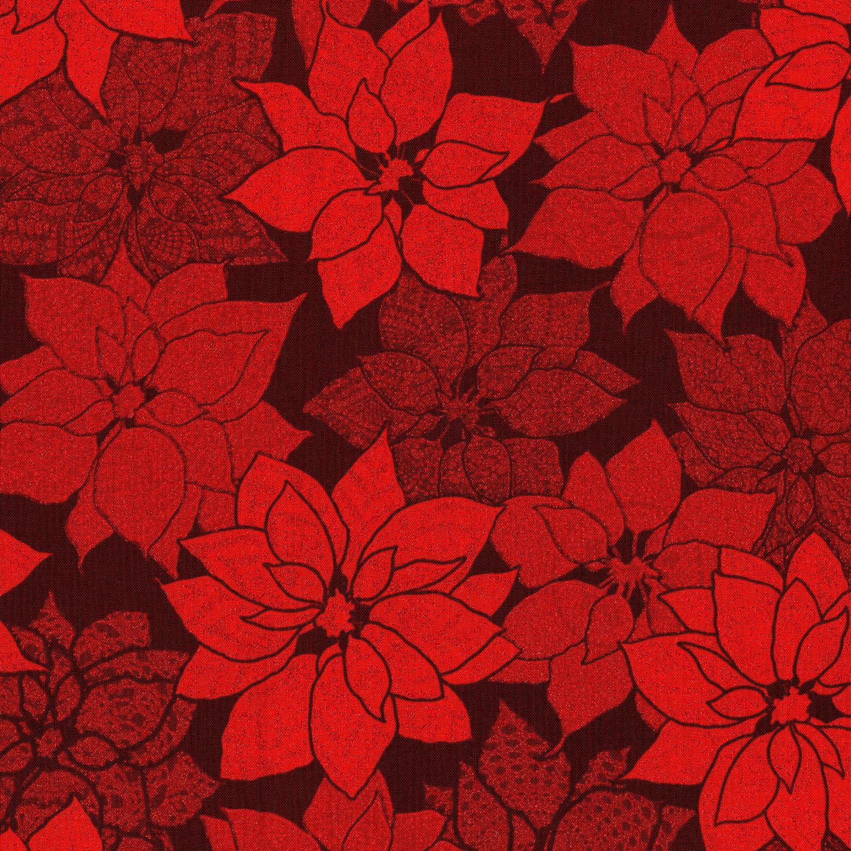 3491-001 CHRISTMAS CROCHET-RADIANT RUBY