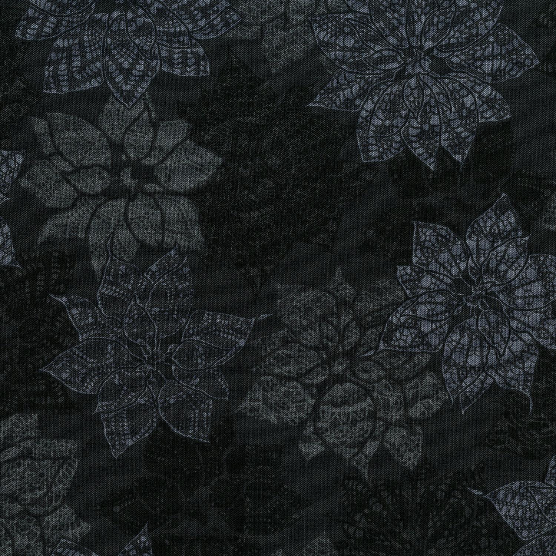 3492-003 CHRISTMAS CROCHET-BLACK