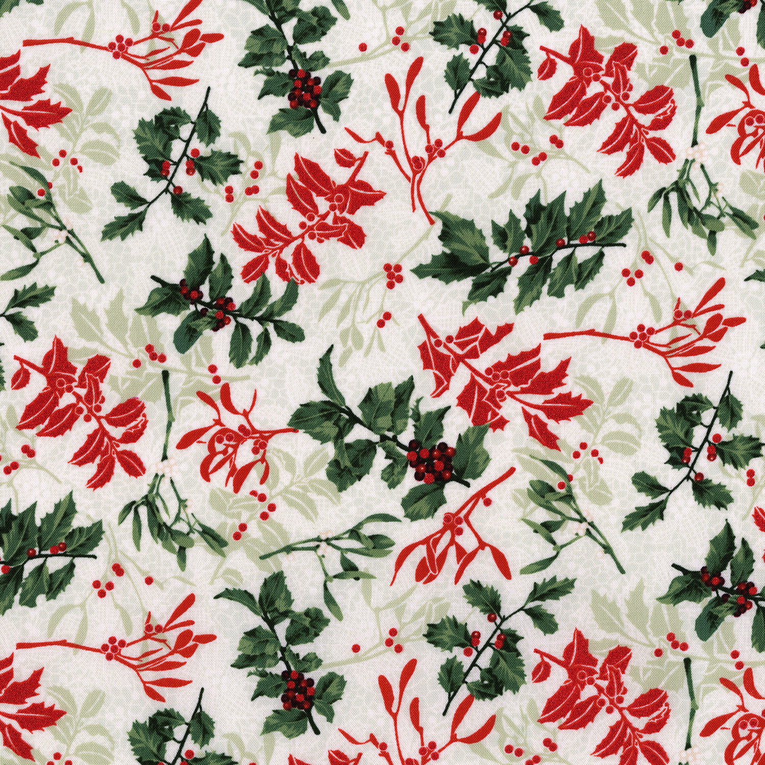3489-001 HOLLY BERRY-RADIANT SILVER SAGE