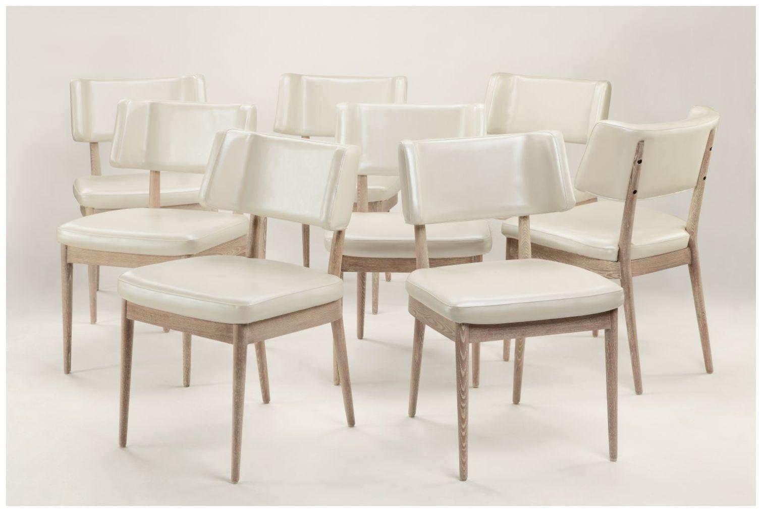 Custom Modern Curved Back Restaurant Chairs