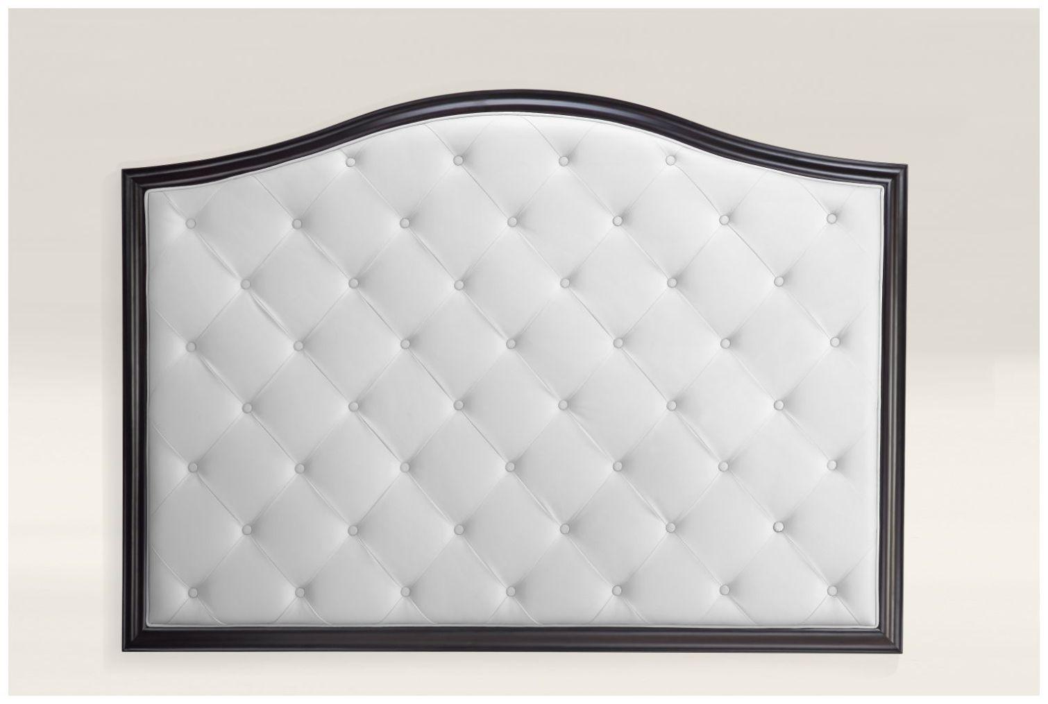 Custom White Upholstery Hotel Headboard with Wood Frame