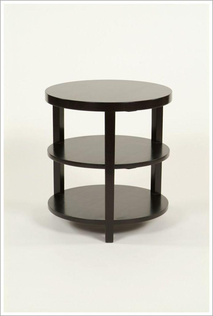 Custom Solid Wood Hotel Side Table