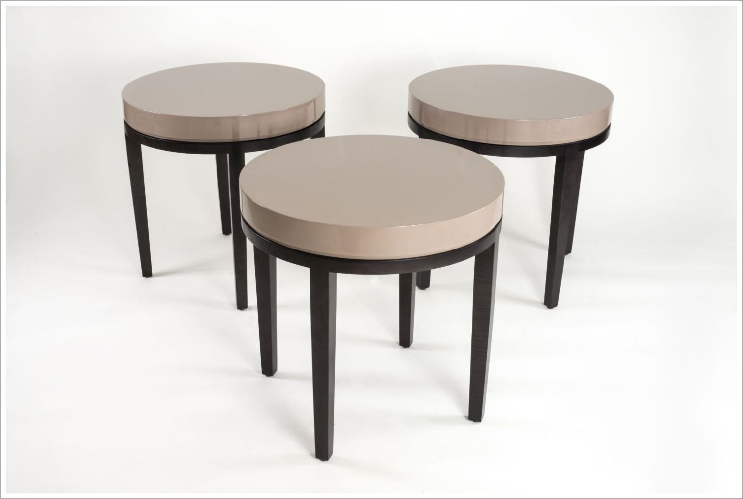 Custom Round Hotel Side Tables
