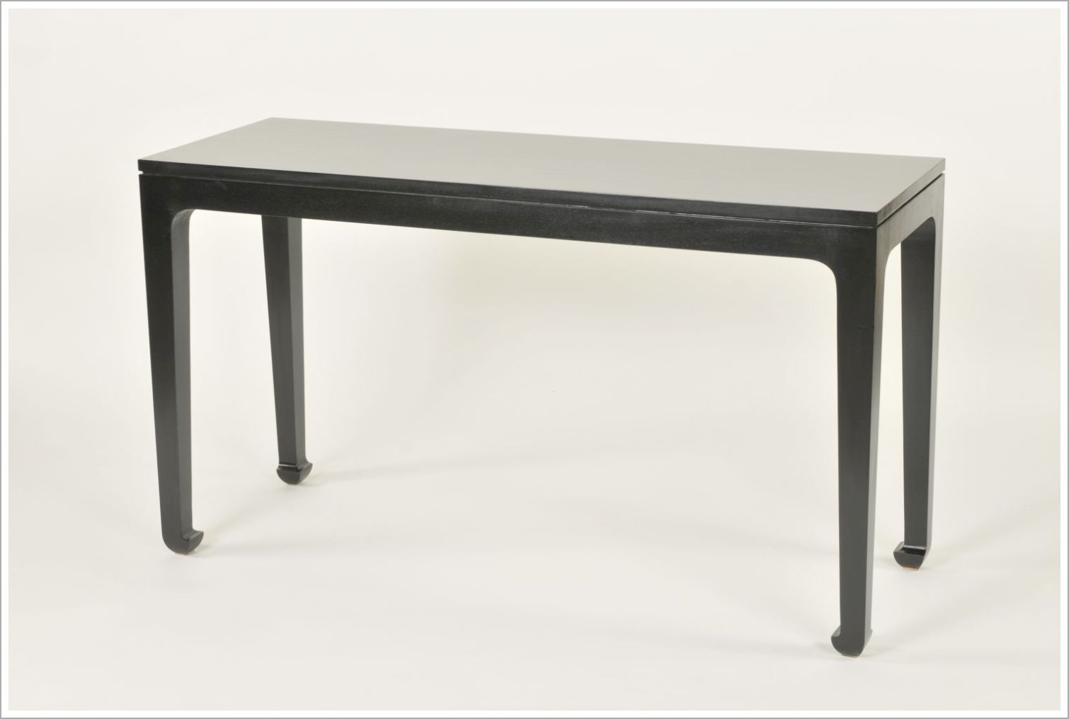 Custom Hotel Console Table with Black Finish