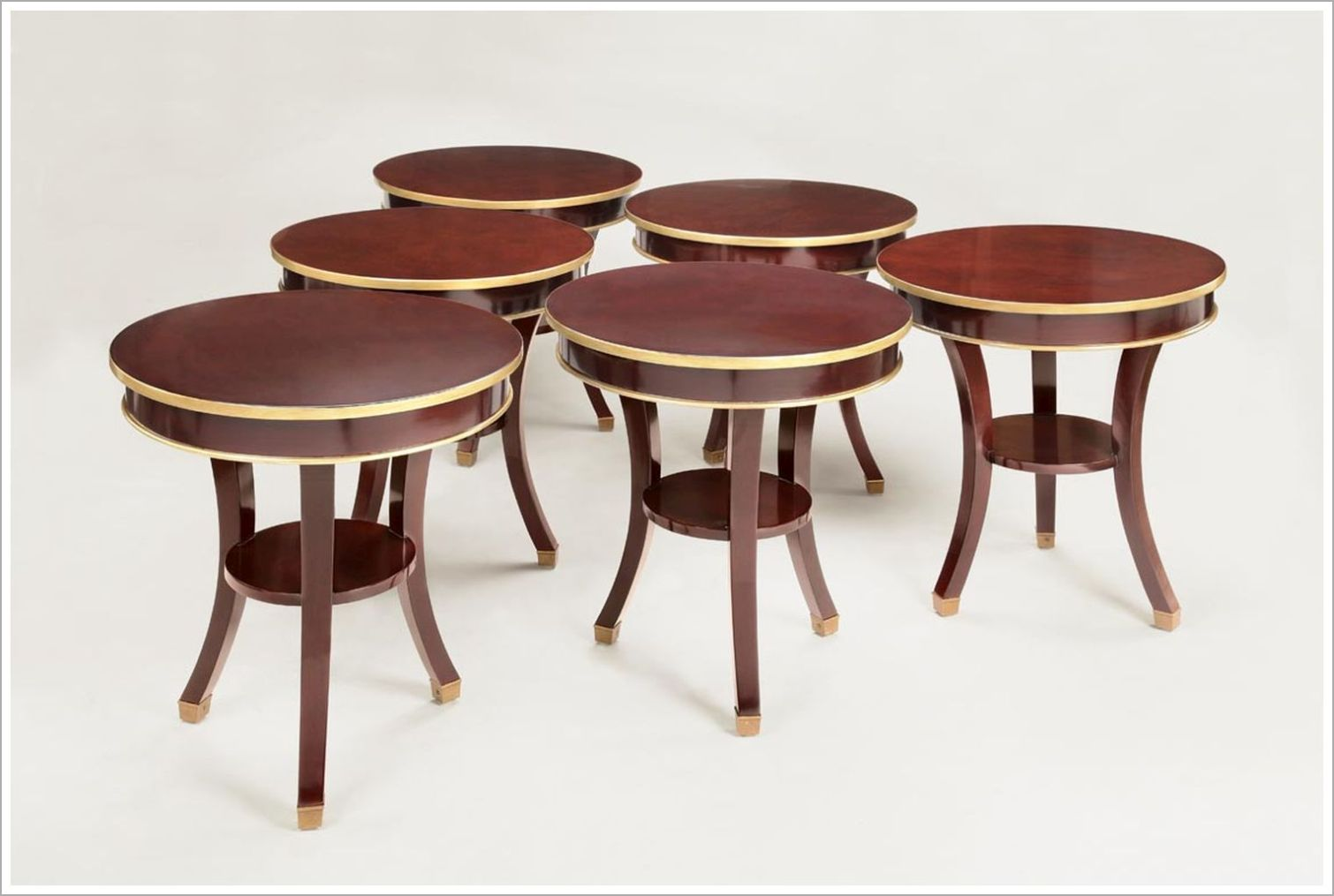 Custom Two Tone Hospitality End Tables