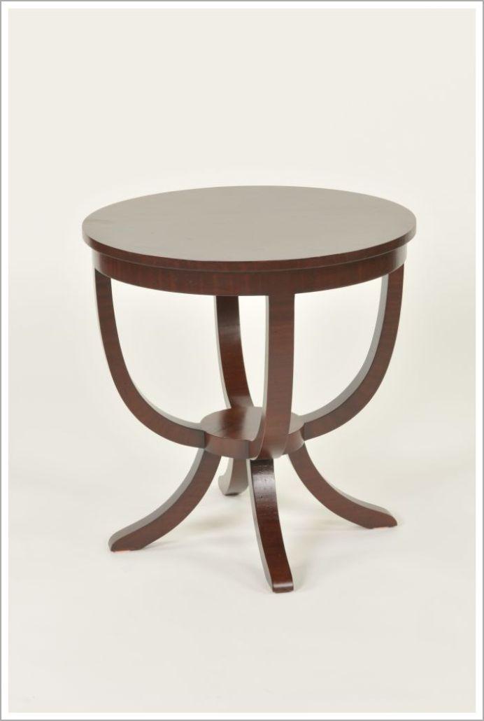 Custom Contoured Hospitality Side Table