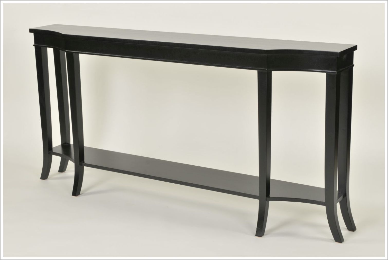 Custom Black Hospitality Console Table
