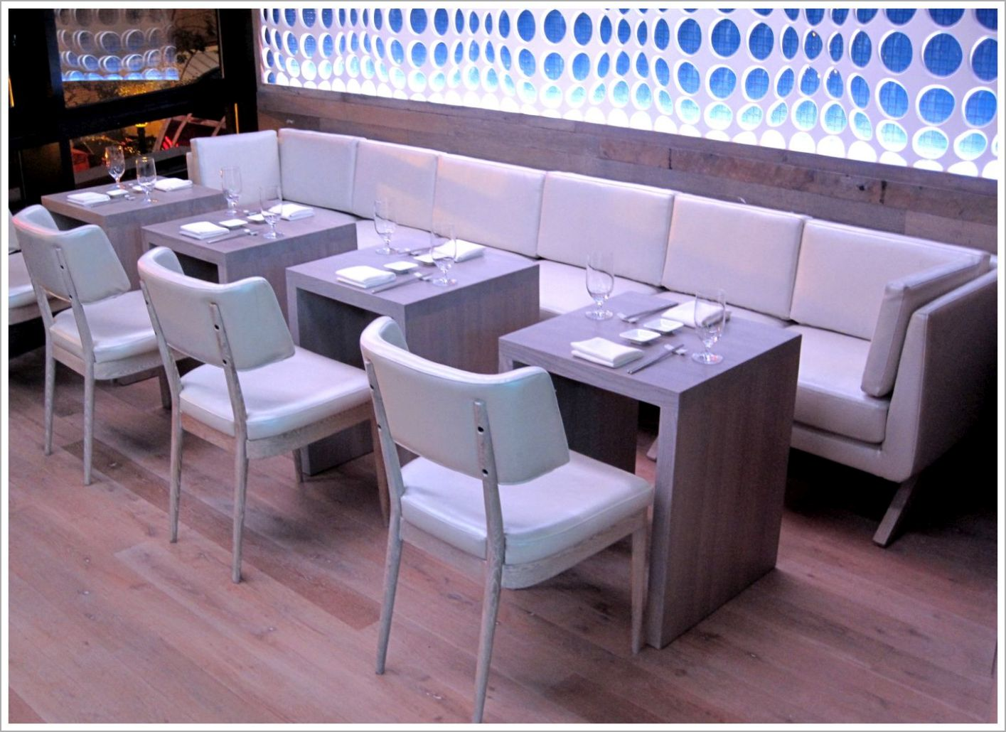 Custom Contemporary Restaurant Seating