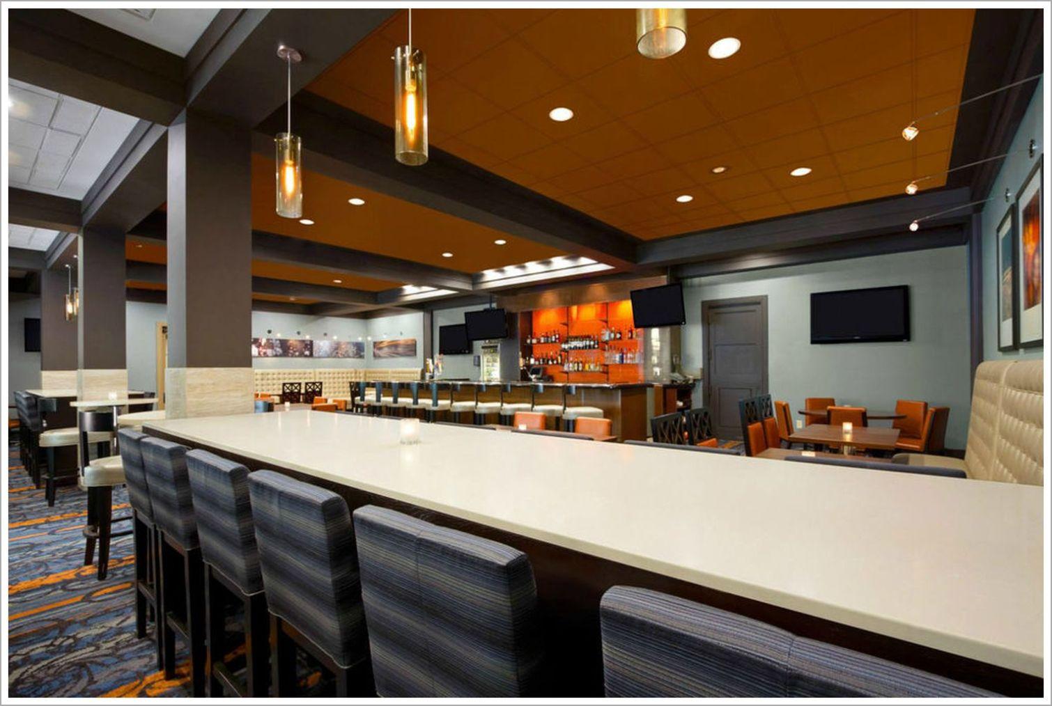 Custom Hotel Lobby Upholstered Barstool