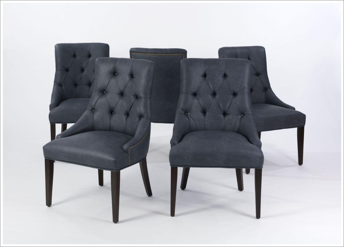 Custom Restaurant Chair with Tufted Back