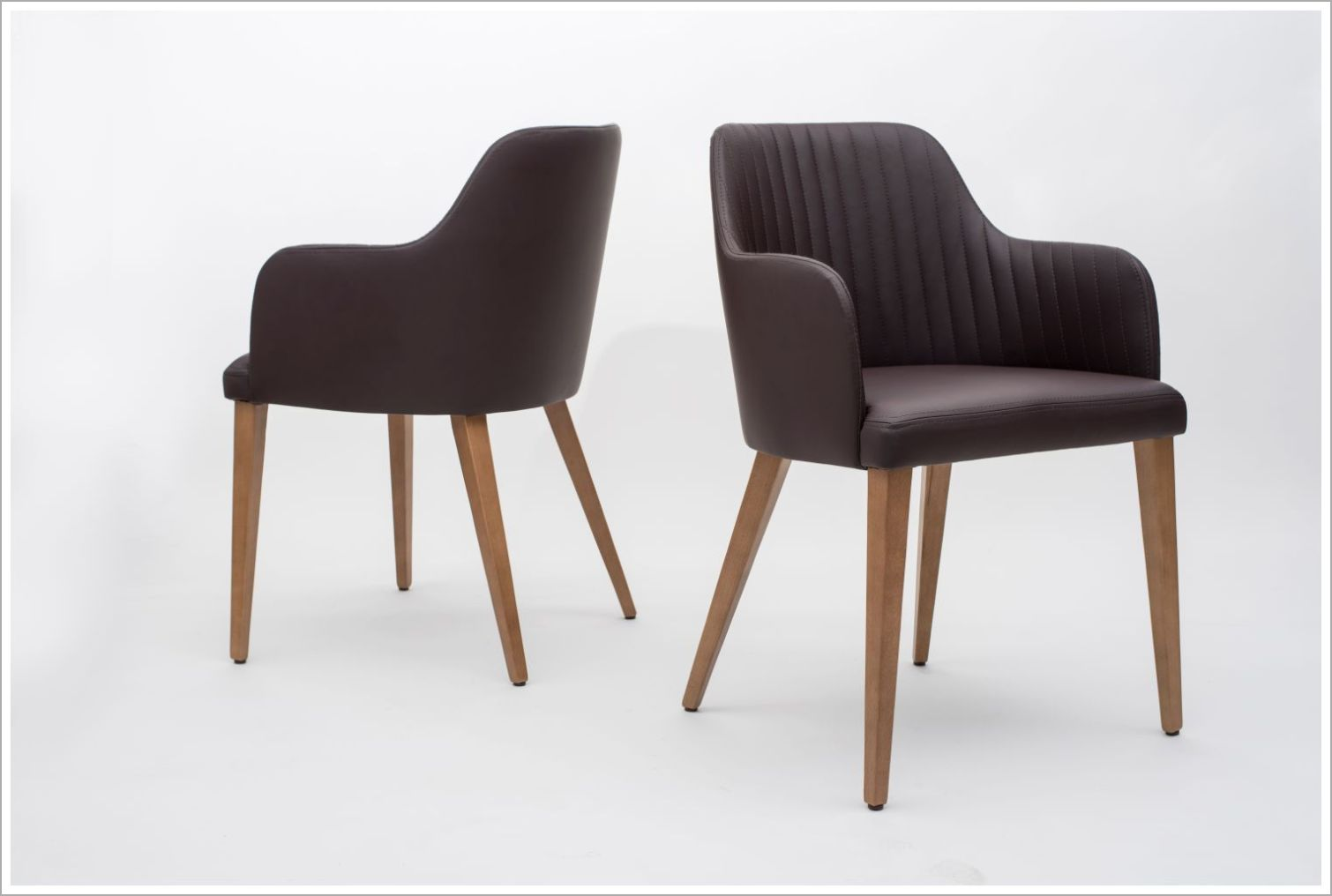 Custom Upholstered Restaurant Armchairs