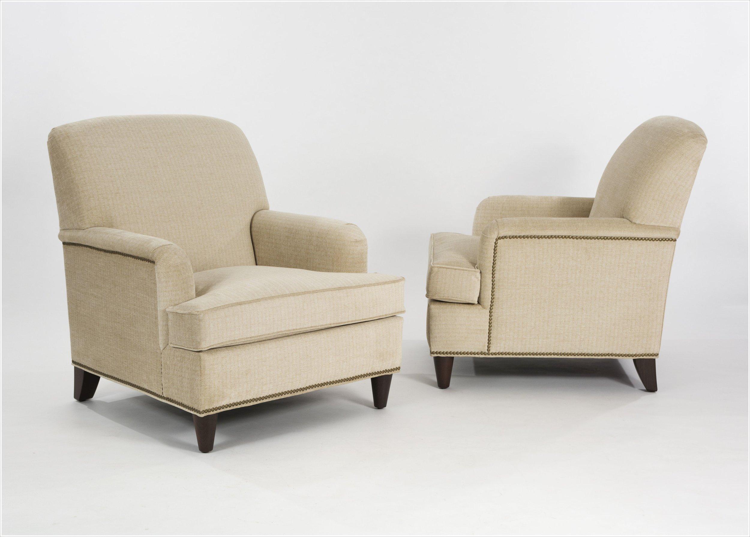 Custom Upholstered Club Chair