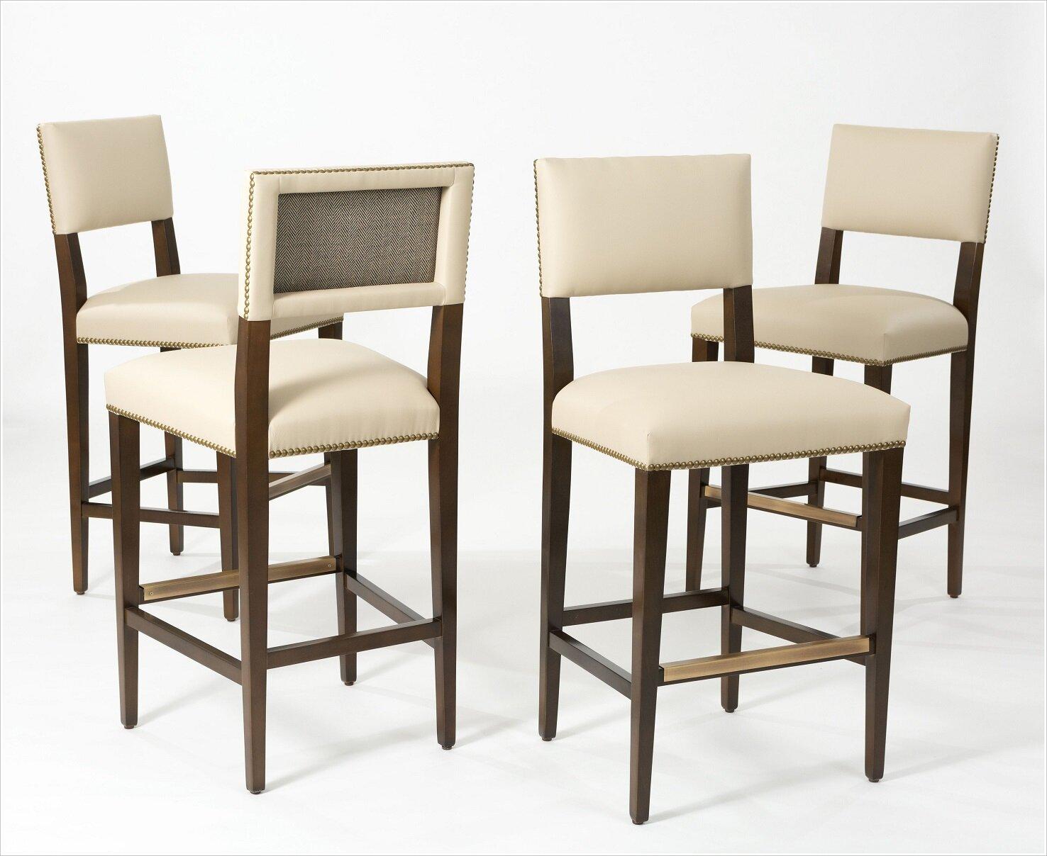 Custom Upholstered Barstools