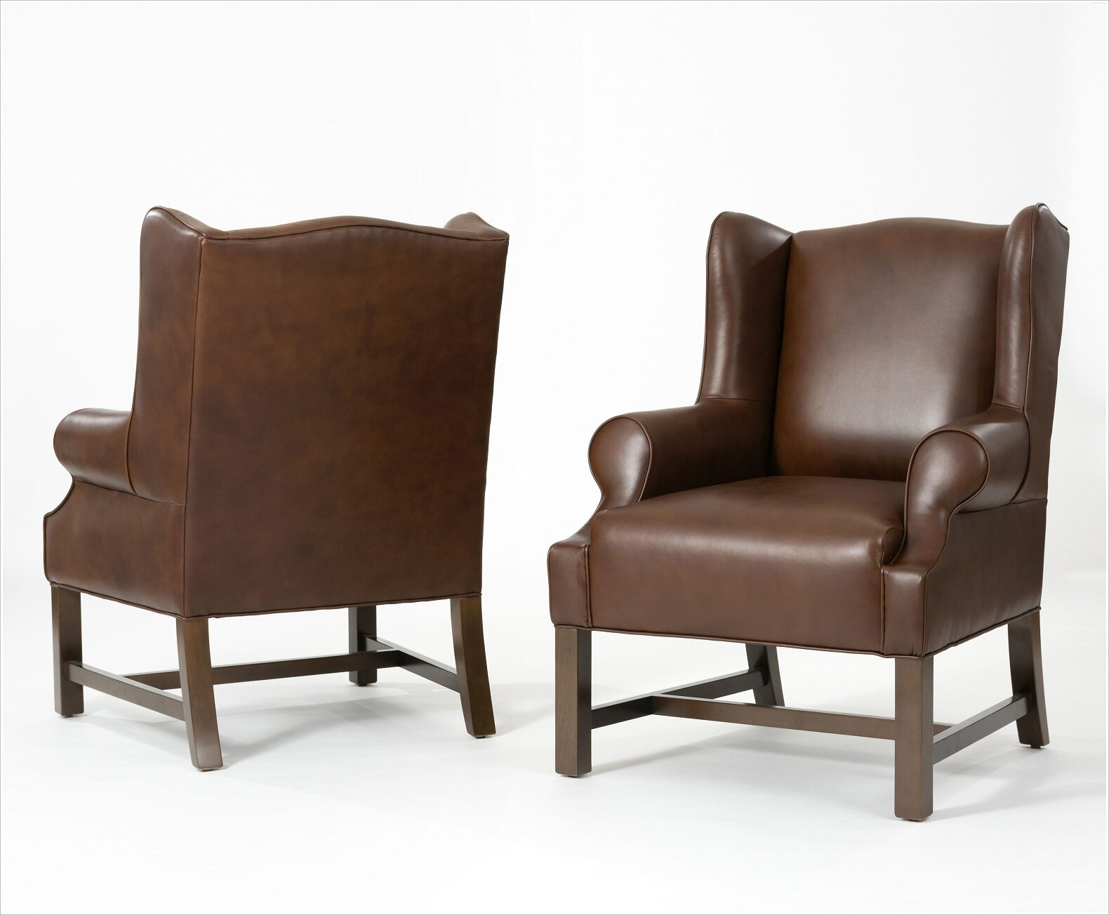 Custom Leather Armchairs