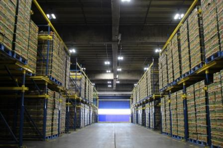LED Light Technology provided Del Monte an innovative and intelligent LED lighting system at their Galveston Port Facility.