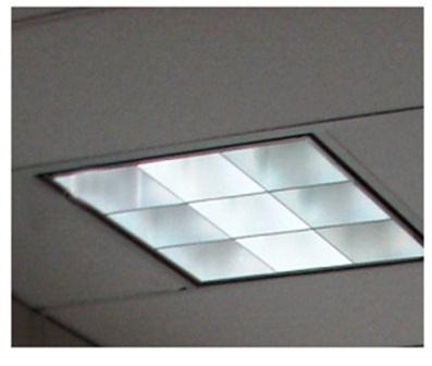Office Building Installs LED 2X2 Retrofit Kit