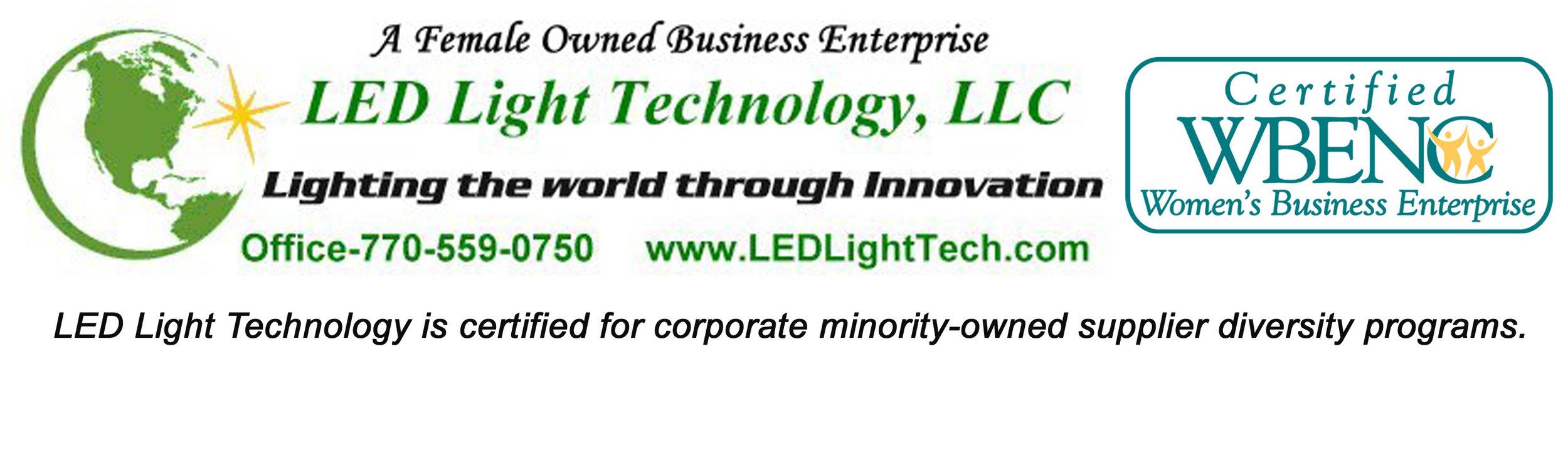 LED Light Techology WBENC Logo