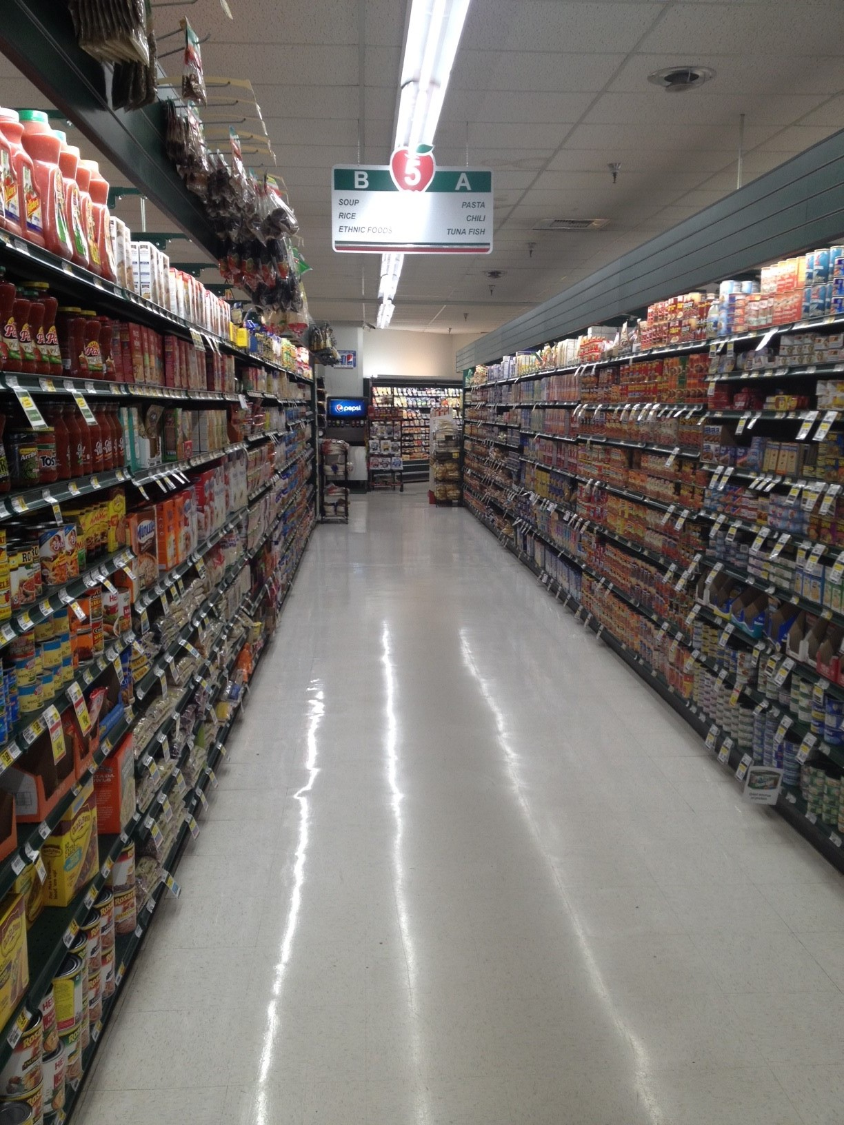 This led plug and play plus installation saved the Red Apple Market in Bremerton, WA Over $70,000. with an Electricity savings of over $7,800 per year and a roi of over 900% all the while increasing Light levels by over 36%