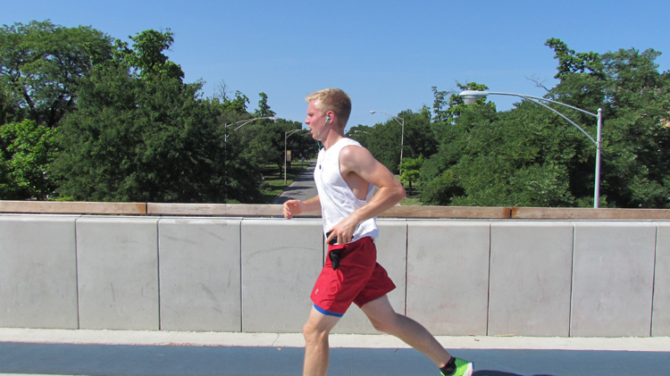 Running On The 606 Trail