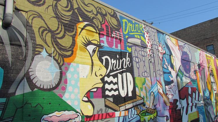 West Loop Pop Art Mural
