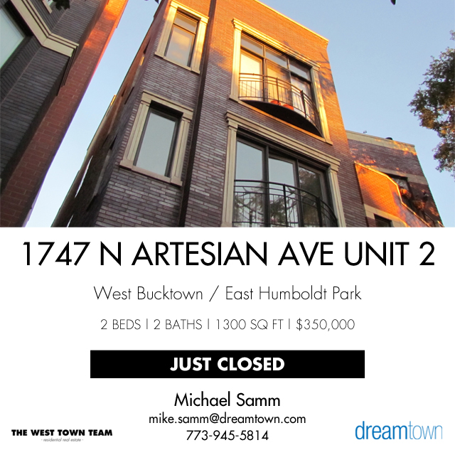 1747 N Artesian Ave Unit 2, Chicago, IL 60647