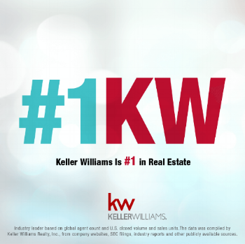 When you work with us, you work with the  #1 real estate company in the United States - Keller Williams Realty .