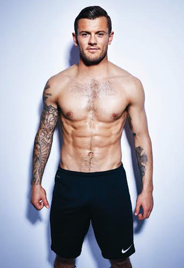 Jack Wilshere shot by David Venni for Men's Fitness