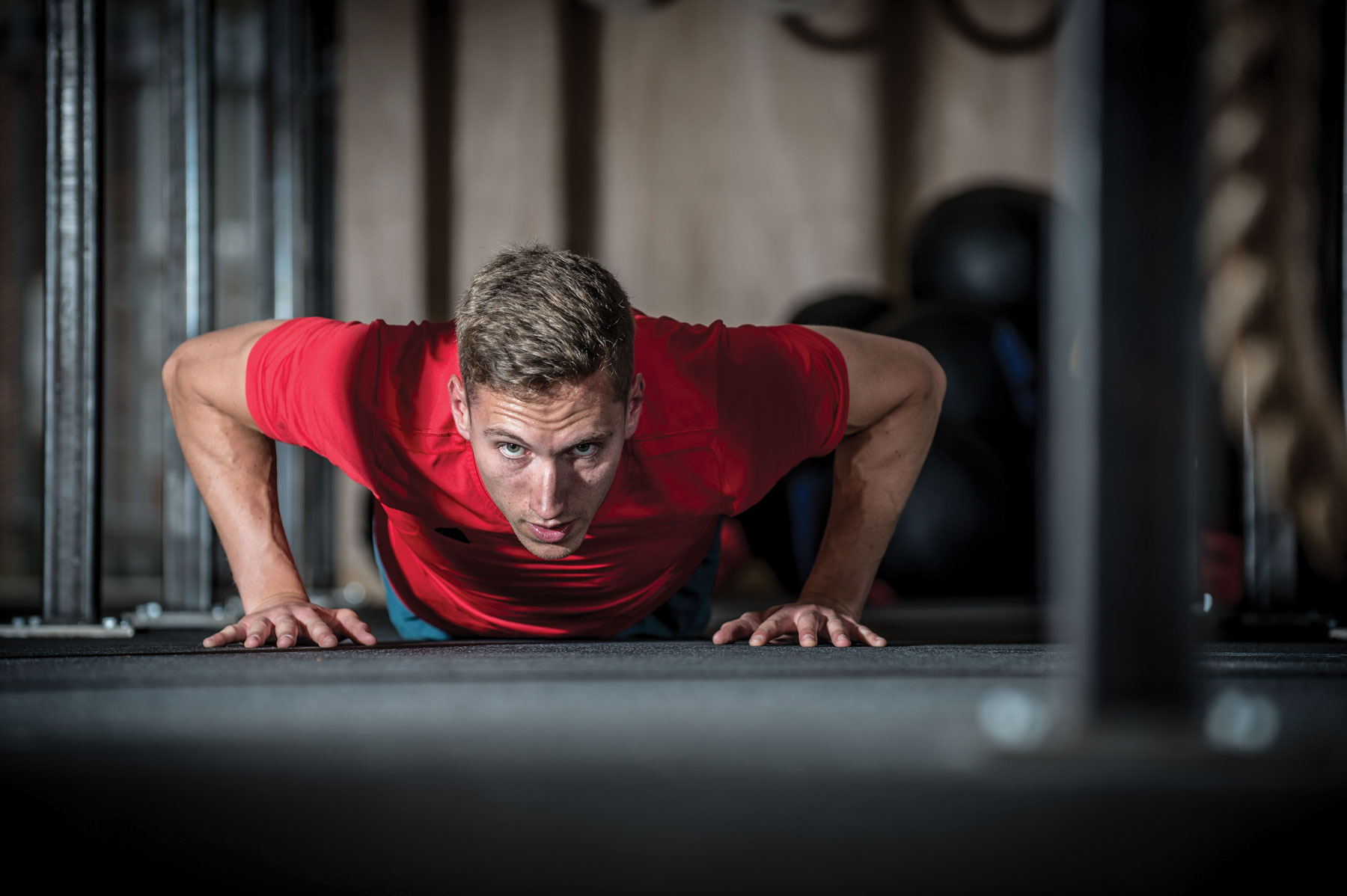 Fit for function: the workouts develop functional strength firefighters need in the line of duty.