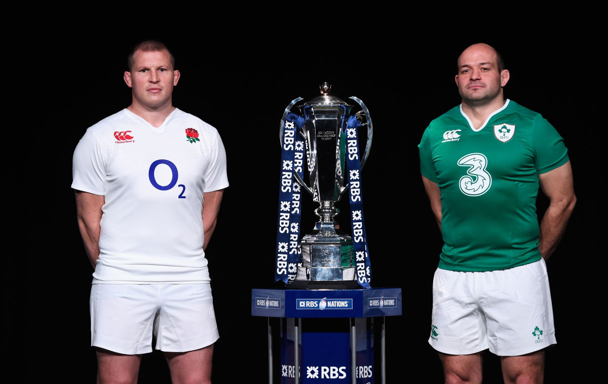 Second best: captains Dylan Hartley and Rory Best will come head to head at Twickenham.