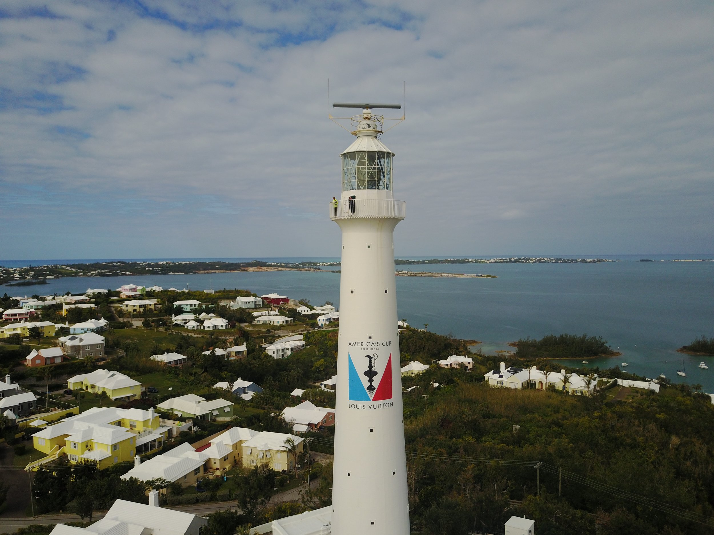 Bermuda lighthouse America's Cup