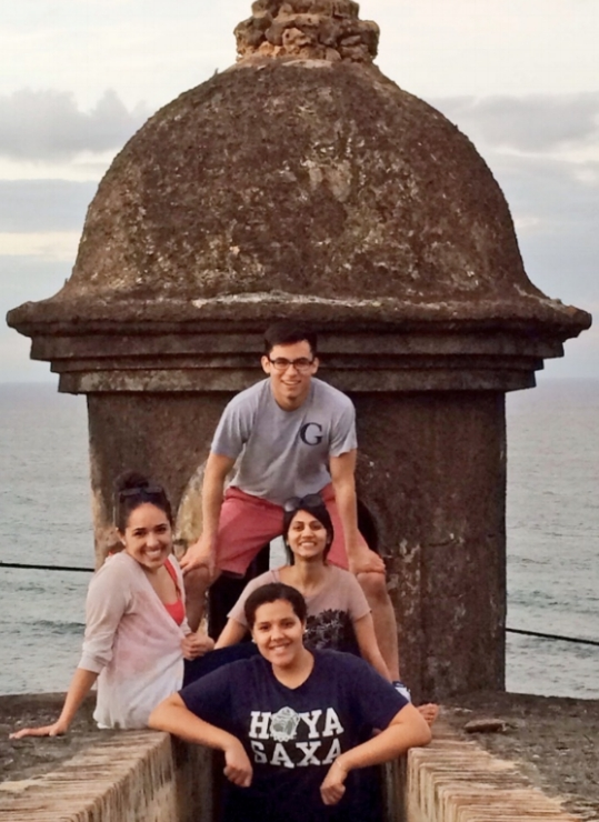 Georgetown University Patrick Healy Fellows, Puerto Rico Service Trip