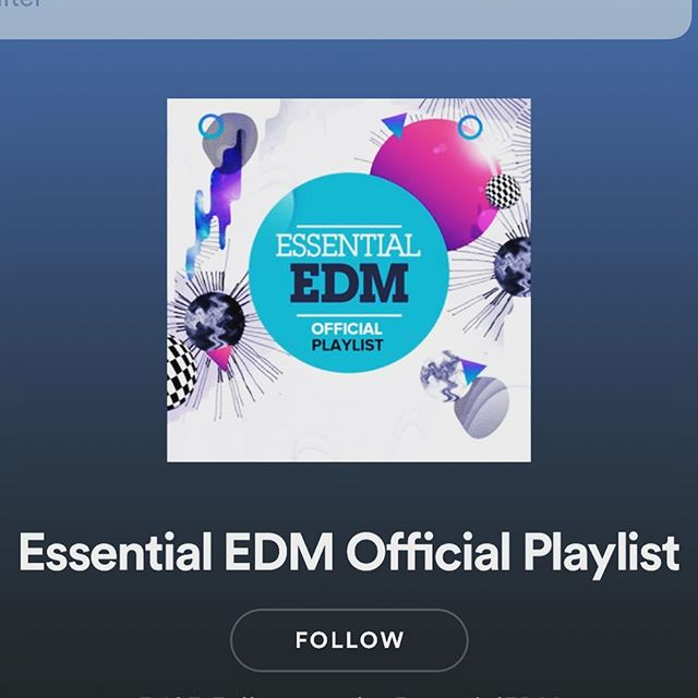 "Thanks to Essential EDM for adding our song ""Structures"" to their @Spotify playlist. Stream link in bio. #newmusic #ambientelectro #essential #EDM"