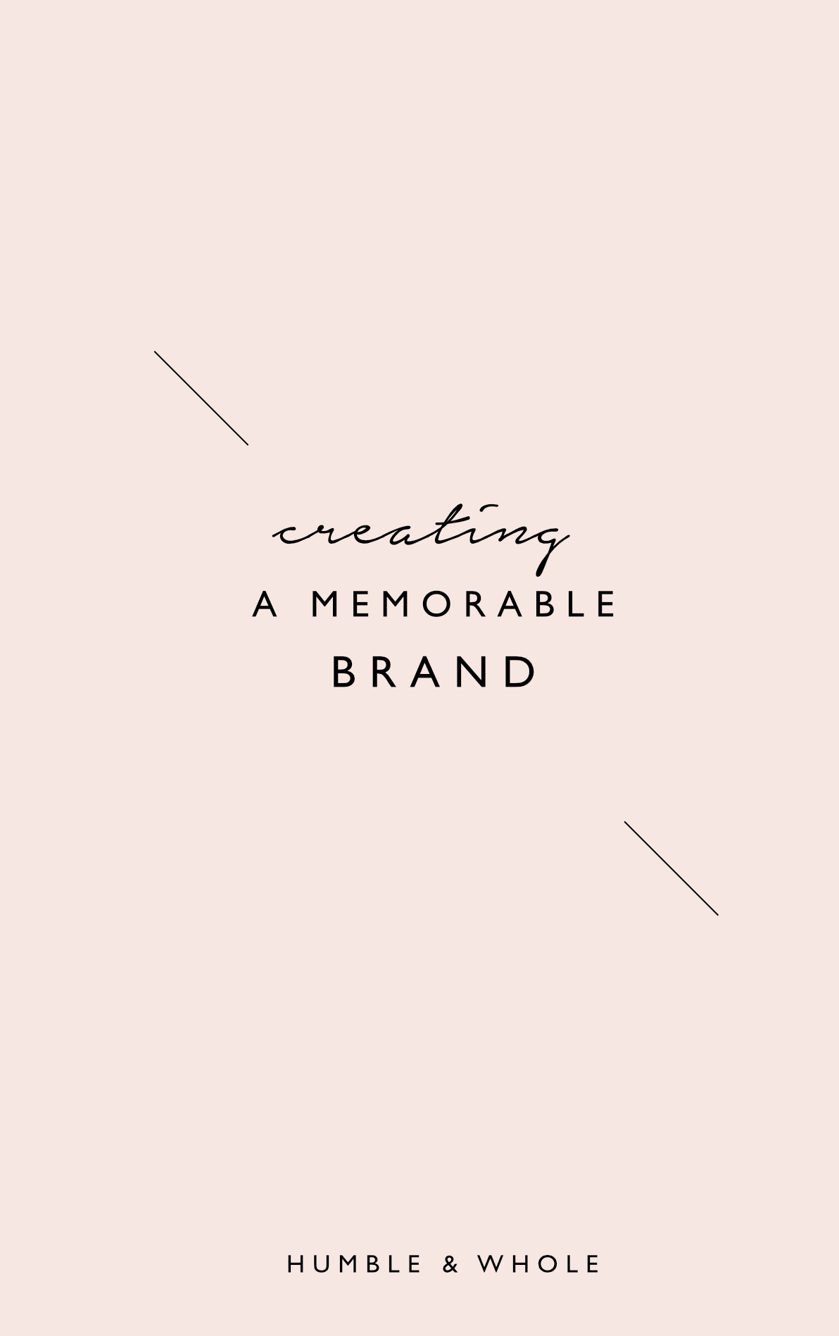 As a new blogger/biz owner, you'll realize that branding is everything.  Click through to learn the secret to creating a stand-alone brand!