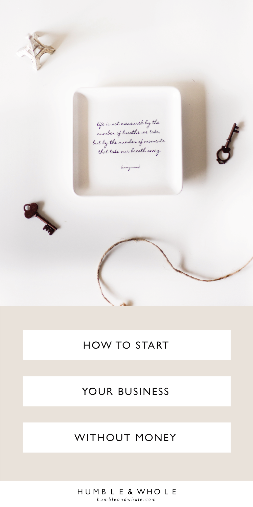 Ready to get your online business off the ground, but don't have any money? Don't worry! Click through to read five tips for getting started, even if you don't have any or very little money to spend!