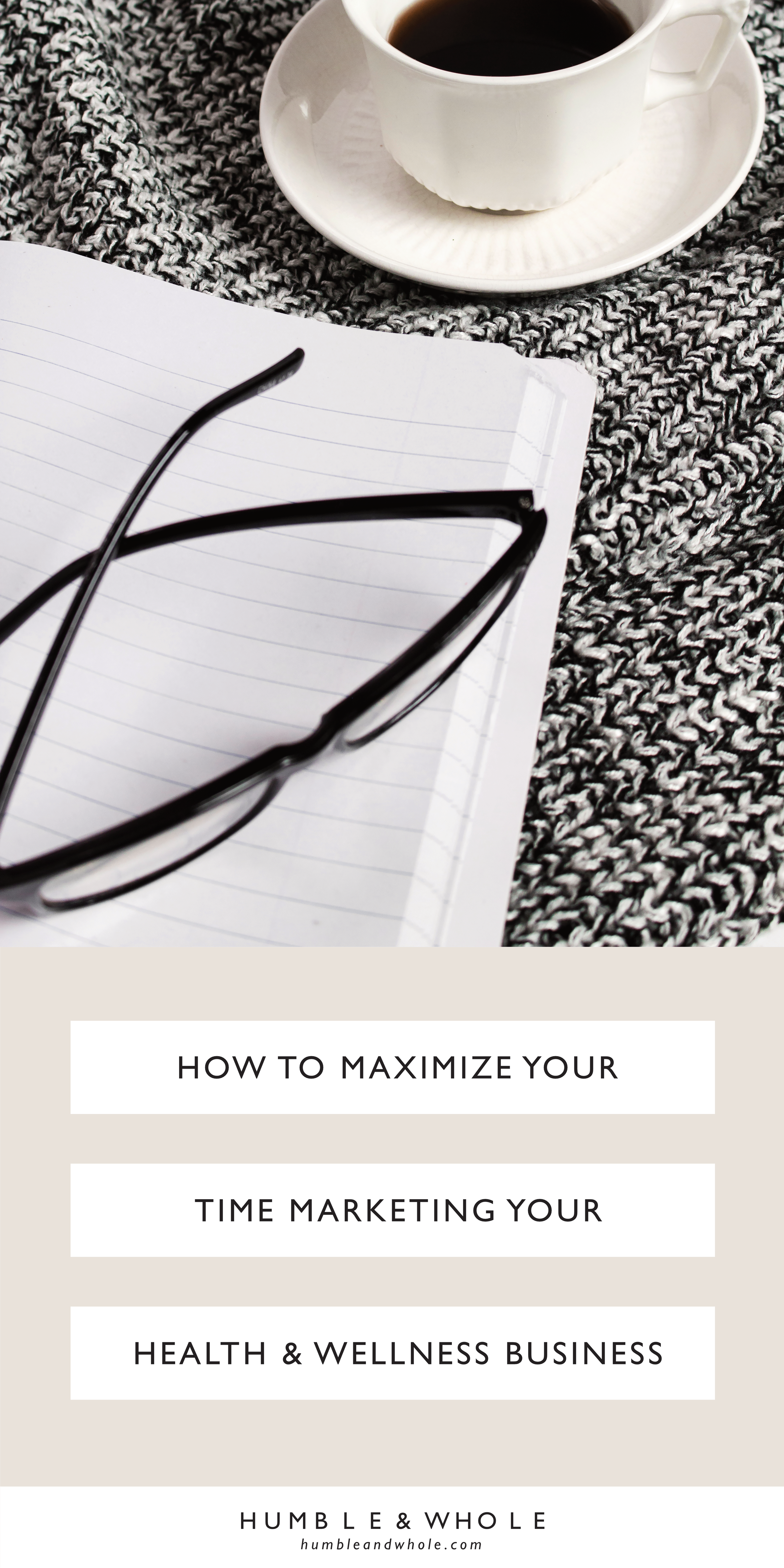 Wondering how to save time marketing your health and wellness business? No worries! We're revealing 6 ways to maximize your time so that you can actually yield an ROI.