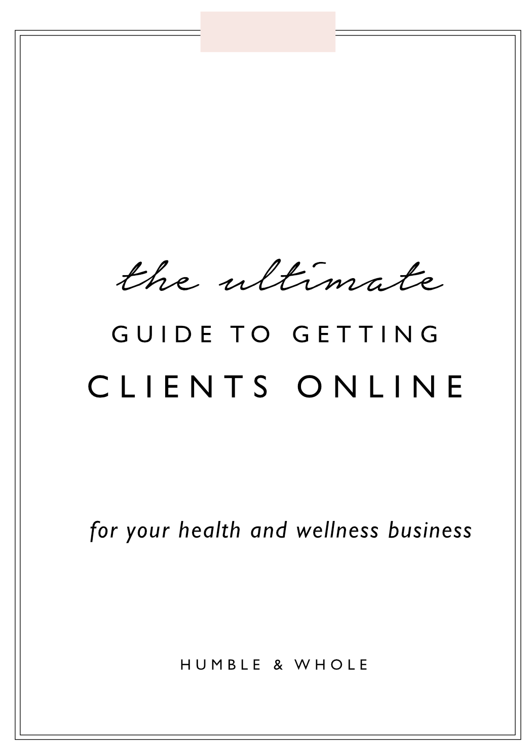 Ok, hands down, the number one issue we see health and wellness professionals asking for help with is: how do I get more clients? And it's a popular ask for a reason. In order to build a sustainable business, you've got to be able to regularly attract and sign clients to work with. In this post, we're sharing seven surefire ways to consistently land clients for your health and/or wellness online business.