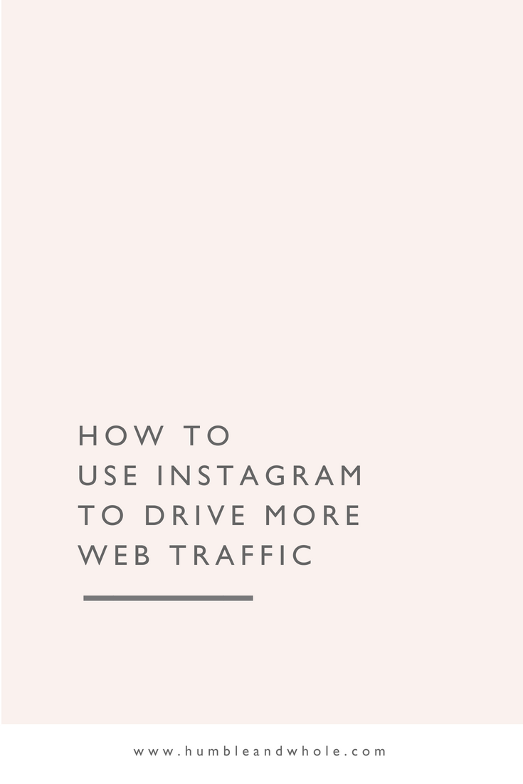 drive more traffic to instagram